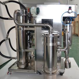 归永氮气闭路循环喷雾干燥机 喷雾造粒干燥设备GY-YJGZ-5G