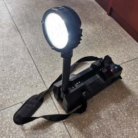 言泉电气RG6117-防爆移动轻便工作灯-LED50W聚泛光红蓝信号灯