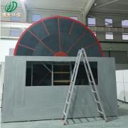 清大环保沸石转轮+RCO/分子筛吸附脱附设备/浓缩装置/催化燃烧设备QD-200000