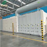 清大环保沸石转轮设备+RCO/分子筛吸附脱附设备催化燃烧设备QD-200000