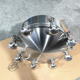 巨捷规格150-600手孔 卫生级法兰压力对焊人孔 化工法兰人孔盖