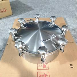 巨捷不锈钢304 316L旋柄快开手孔标准 化工人孔 规格150MM-600MM