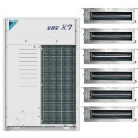 大金DAIKIN大金商用中央空调多联机VRV 大金风管机 大金嵌入式天花机RUXYQ12BA