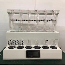 归永一体化水蒸气蒸馏仪 水蒸汽蒸馏装置品牌GY-FSZLY-6