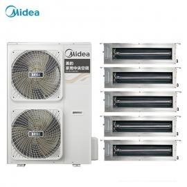 美的(MIDEA)美的家装中央空调5匹一拖四一拖五 美的户式多联机销售安装MDVH-V120W/N1