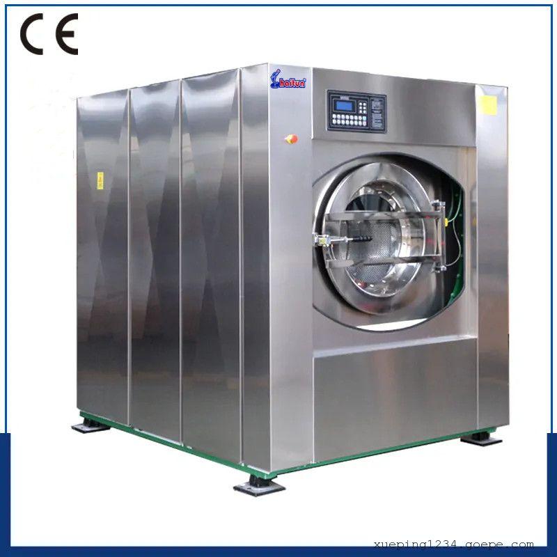 �h庭�C械XTQ-100大型工�I洗衣�C 洗浴��所毛巾洗��C 洗�煜疵�一�w�C