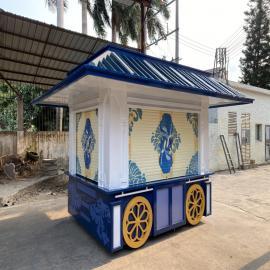 SG时景家具商业街售卖亭公园售货亭移动售货车