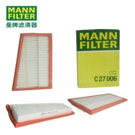 MANN-FILTER曼牌滤清器空气滤清器、 空滤芯C27006
