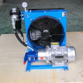 剑邑JIAN YI液压系统独立循环型风冷却器散热器 液压泵站自循环风冷式冷却器ELDL-B-4-A3