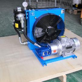 剑邑牌液压润滑系统油温循环散热冷却装置 减速机齿轮箱润滑油冷却散热ELDL-4-A3