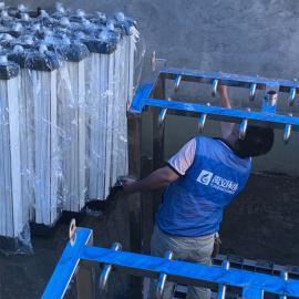 禹安环境垃圾填埋场40吨产水渗滤液处理成套NF膜系统成套RO膜系统YASL -40T