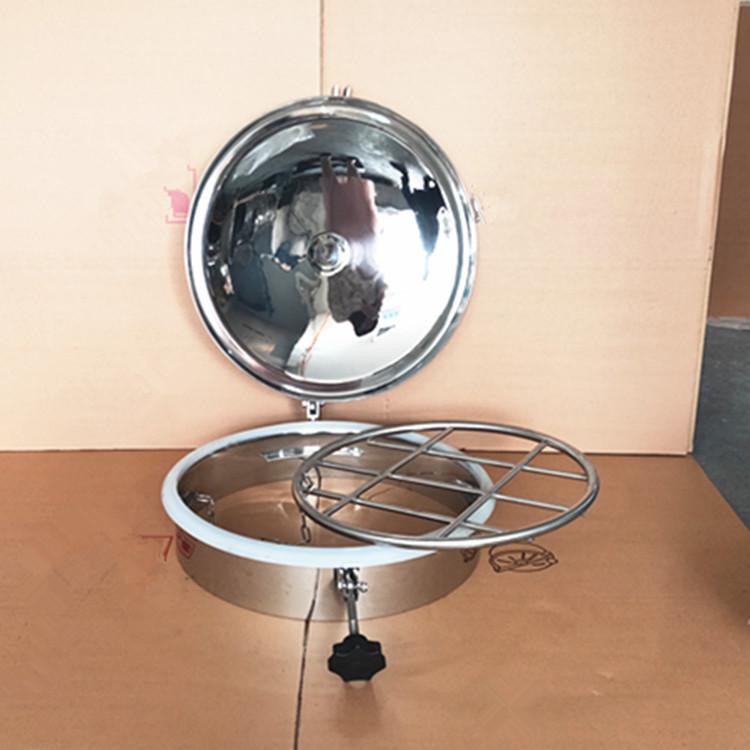 巨捷不�P�方形手孔�w 250*150�R面��光柜形人孔 罐用快�_方形人孔�wYAB