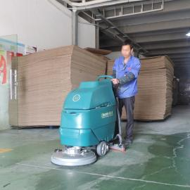 YSD-A3洁乐美手推式洗地机工厂车间全自动洗地车电动拖地吸干机工业清洗机