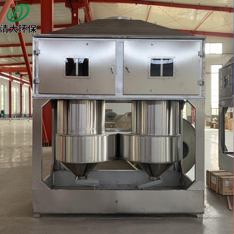 清大环保气旋塔处理喷涂车间废气 不锈钢材质气旋塔 水雾清理QD-QXT-20000