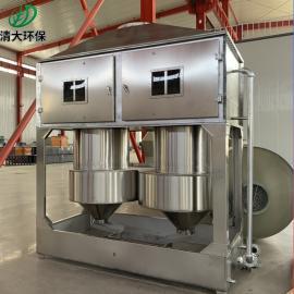 清大环保喷漆房漆雾处理 气旋塔设备泊头环保气旋混动塔QD-QXT-15000