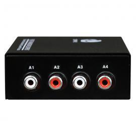 飞畅科技 B系列 1-4路 莲花座RCA 广播级 音频光端机