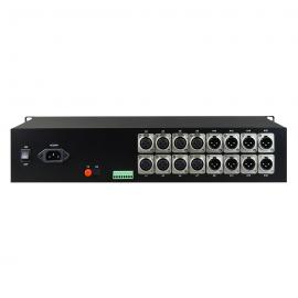 飞畅科技 卡侬头XLR 1-16路纯音频光端机 广播级 2U机框