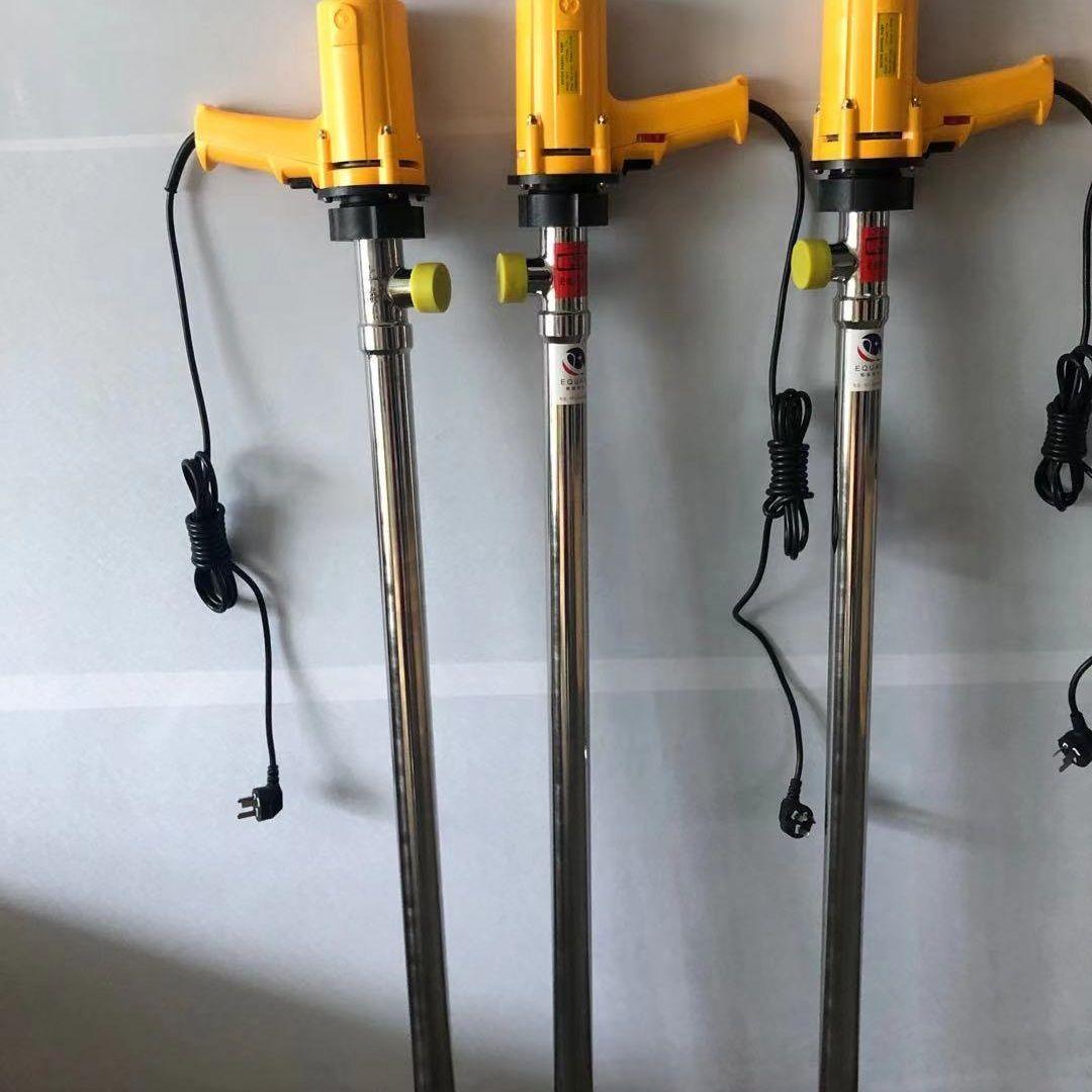 鄂泉手持式电动插桶泵SB-7