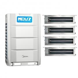 Midea(美的)美的商用中央空调MDV7系列 美的12匹多联机主机 380V 外机MDV-335W/D2SN1-8U2