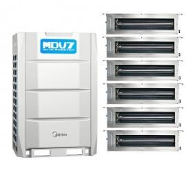 Midea(美的)美的商用多联机16匹主机 美的中央空调16HP室外机 美的风管机MDV-450W/D2SN1-8U2