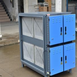 甬玖翔LJDY-32A纺织厂定型机废气净化成套设备