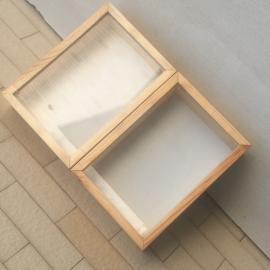 智科仪器实木标本盒 标本制作保存展示 ZK-BBH