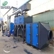 清大环保喷漆房废气处理催化燃烧装置10000量参数QD-00001