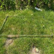 野外调查样方框植保草地监测取样ZK-YFK