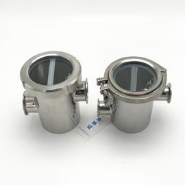 巨捷卫生级50MM不锈钢防倒灌地漏 水封防臭空气隔断器 卫生级阻断器GMP