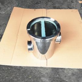 巨捷 不锈钢快装空气阻断器 卡箍式空气阻隔器38MM