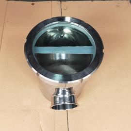 巨捷 不锈钢快装空气阻断器 卡箍式空气隔断器 防倒灌地漏50MM