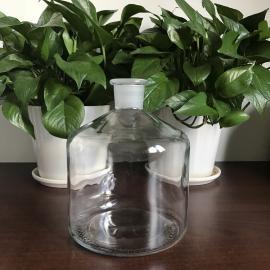 德国普兰德126965大玻璃试剂瓶,透明,2000ml,无盖,瓶口规格 29/32