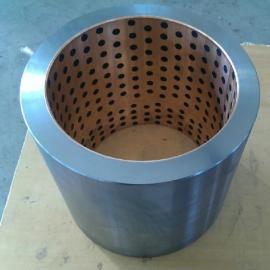 固润钢基铜合金镶嵌固体润滑轴承Bimetal Bearing