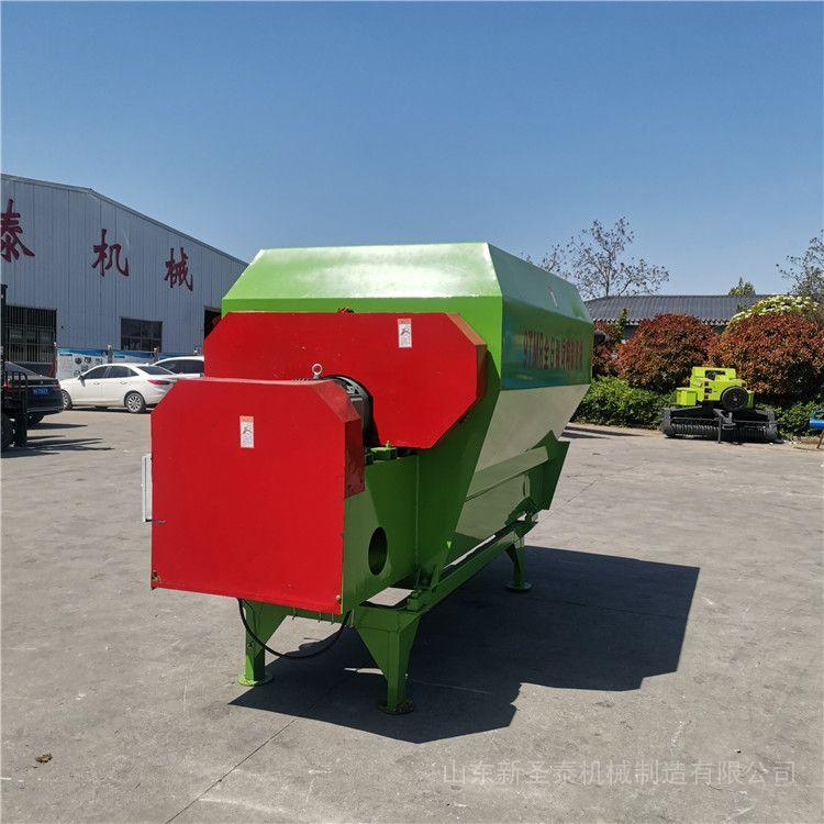 圣泰立式9方日粮搅拌机 TMR全日粮制备机型号 TMR-7