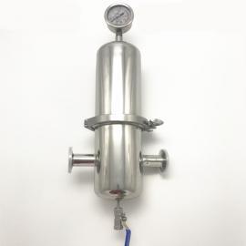 巨捷 卫生级快装式高效空气二氧化碳过滤器蒸汽气体 襄阳市