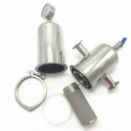 巨捷 不锈钢聚四氟乙烯膜PTFE 滤芯过滤器、二氧化碳气体净化过滤器