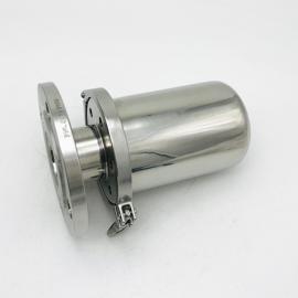 巨捷 304、316L�l生�法�m�B接空�夂粑�器 快�b式�l生���罐呼吸器