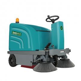洁乐美YSD-12电动驾驶式清扫车仓库小型工厂车间电瓶扫地车小区物业扫地机