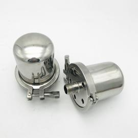 巨捷 空气呼吸减压阀 316卫生级外丝呼吸阀 快装式卡箍呼吸器GMP