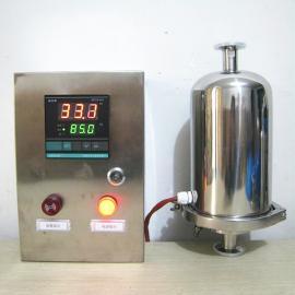巨捷不锈钢管道空气过滤器 无菌呼吸阀 卫生级智能控温电加热呼吸器GMP