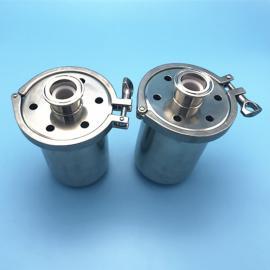 巨捷不锈钢快装阻火器 卫生级卡箍式阻火呼吸器 卫生级排气阀GMP