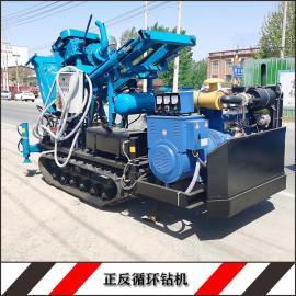华豫履带正循环打井机 3寸多档正循环钻井机HY-120型钻机