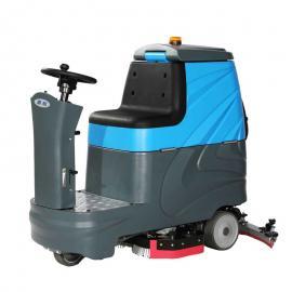 嘉航工厂厂房地面保洁用驾驶式双刷洗地机JH-760