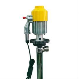 �B泉��硬逋氨� 220V手提不�P�泵 SB-1-2防爆油桶泵手��