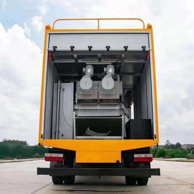 炎帝牌东风多利卡污水处理车/污水净化车/市政抢险车SZD5041TWC6型污水处理车