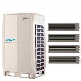 Midea(美的)美的中央空调嵌入式风管机 美的商用多联机 美的空调型号参数MDV-D36T2/N1-C3