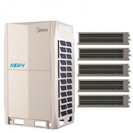 Midea(美的)美的商用多��CMDV-V系�y 美的中央空�{32匹主�C 美的空�{MDV-900W/D2SN1-8X(I)