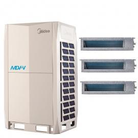 美的多联机美的商用多联机 美的中央空调VRV系统 美的空调多联王主机MDV-670W/D2SN1-8X(I)