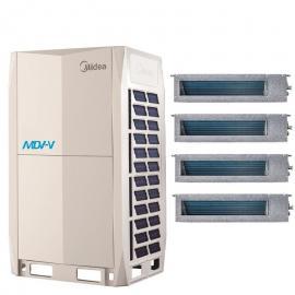 美的(MIDEA)美的商用多联王系列 美的大型中央空调30匹主机 美的MDV-850W/D2SN1-8X(I)
