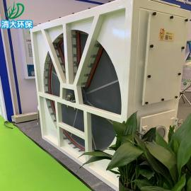 清大环保三床旋转式RTO 催化燃烧一体机 沸石浓缩转轮设备QD-200000
